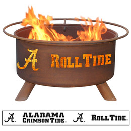 Alabama Roll Tide Fire Pit