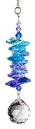 Crystal Moonlight Cascade Ball Rainbow Maker