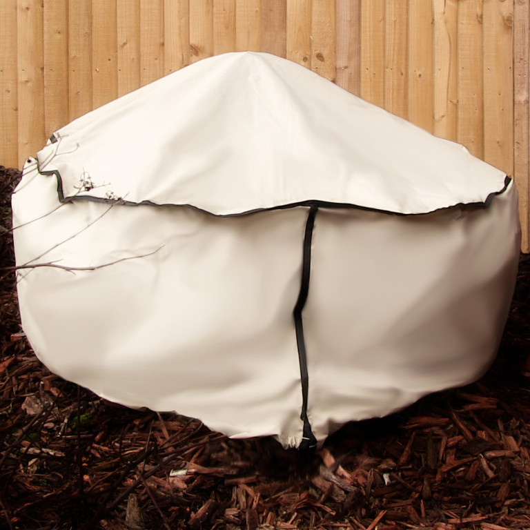 Sunnydaze Beige Round Fire Pit Cover Inch Picture 744