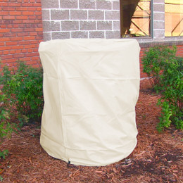 Sunnydaze Heavy Duty Beige Water Fountain Covers