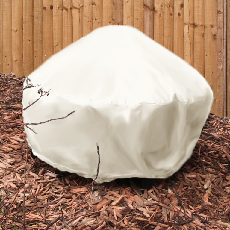 Sunnydaze Heavy Duty Beige Round Fire Pit Cover Diameter Photo