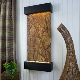 Brown Marble w/ Black Frame