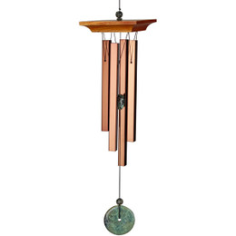 Woodstock Turquoise Wind Chime