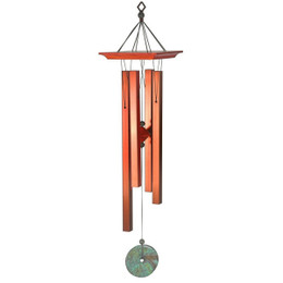 Woodstock Turquoise Chime Medium