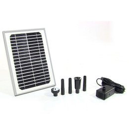 "Sunnydaze Solar Pump and Solar Panel Kit with 56"" Lift"
