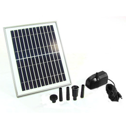 "Sunnydaze Solar Pump and Solar Panel Kit with 78"" Lift"