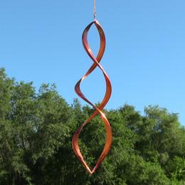 Sunnydaze Gemini Copper Wind Spinner