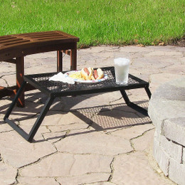 Camping and Patio Foldable, Portable Tray/Table by Sunnydaze