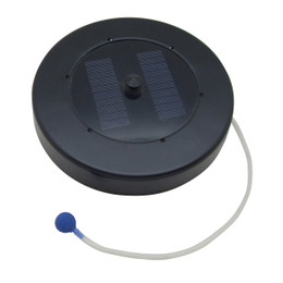 Sunnydaze Solar Floating Pond Oxygenator Oxygen Air Pump with Air Stone