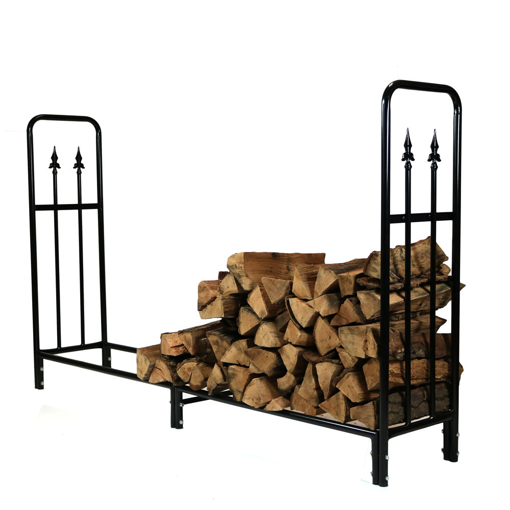 Sunnydaze Decorative Firewood Log Rack Foot Log Rack ONLY Picture 616