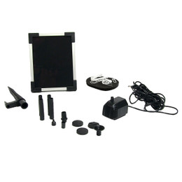 "Sunnydaze Solar Pump and Solar Panel Kit with 20"" Lift"