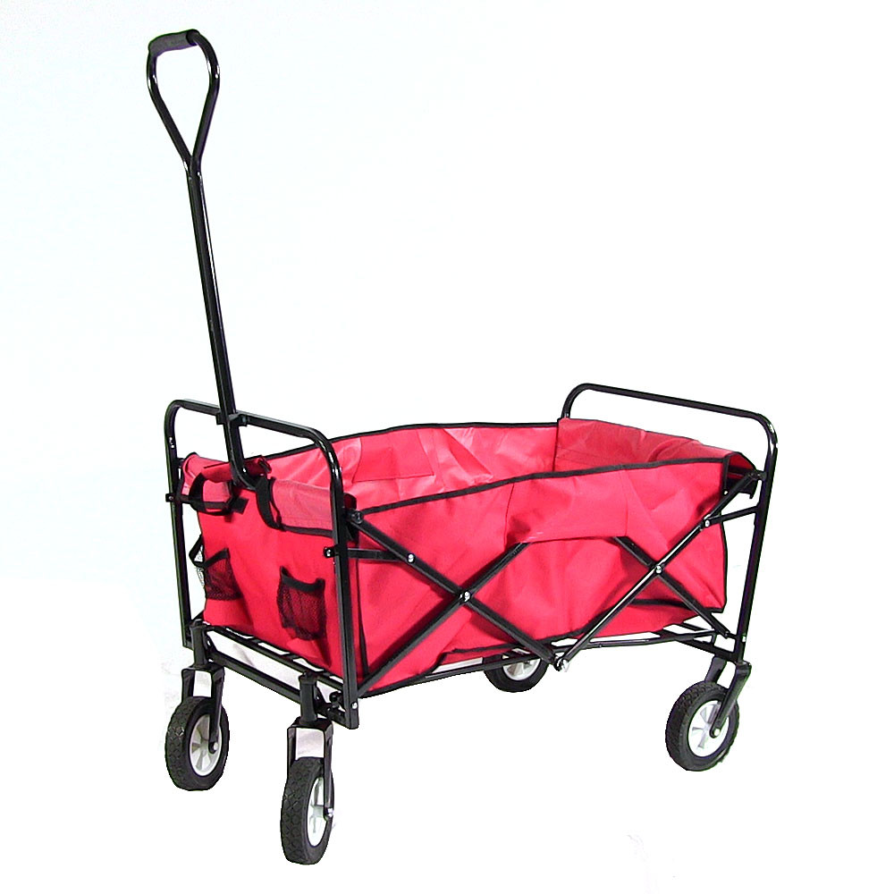 Sunnydaze Folding Utility Wagon Garden Cart  Picture 669