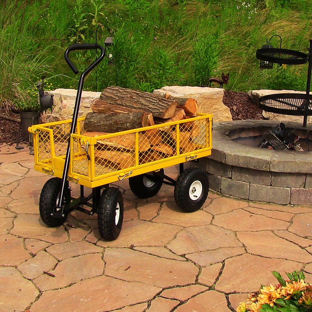 Sunnydaze Heavy Duty Steel Log Cart  Picture 579