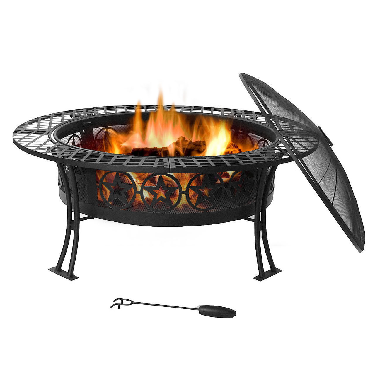 Sunnydaze Four Star Fire Pit Table Diameter Photo