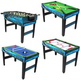 Sunnydaze 40 Inch 10-in-1 Multi-Game Table