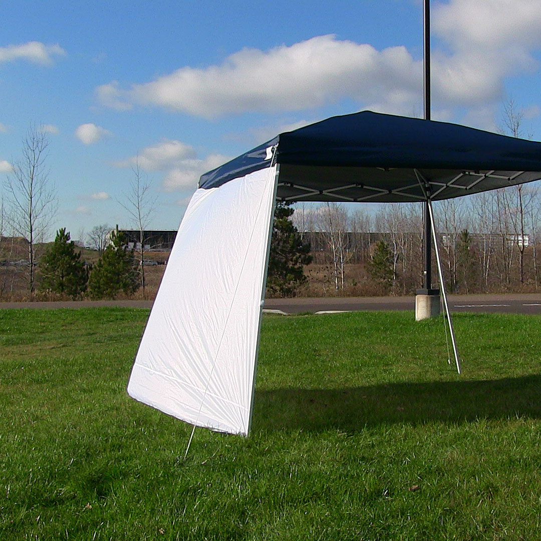Sunnydaze Quick Up Canopy Sidewall Top Ground Slant Leg Sidewall Panel Picture 628