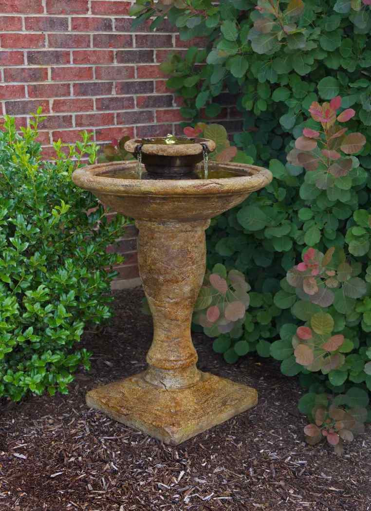 Henri Studio Cast Stone Windstone Water Fountain Image 18