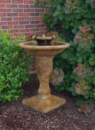 Henri Studio Cast Stone Windstone Water Fountain