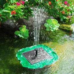 Sunnydaze Floating Lily Solar Pond Pump
