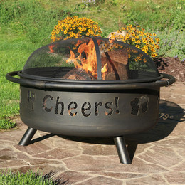 "36"" Cheers Fire Pit Outdoor"
