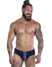WildmanT Sportivo Bikini Black & Purple