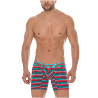 Mundo Unico Mid Boxers Briefs Danza Print Cotton