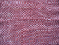 samples of 8 shaft handwoven diversified plain weave Dye-Lishus® cotton towels dyed after weaving