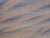 mock ikat by arashi shibori on Dye-Lishus® cotton shaded stripe fabric