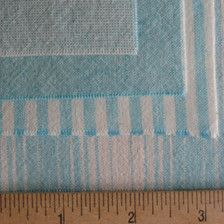 Four fabrics, shown dyed. Pixellated on top.