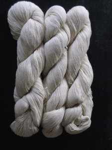 natural green cotton yarn