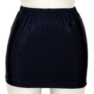 Black stretch skirt extra short!
