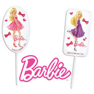 Picks Fun Pix Barbie 12 ct Wilton