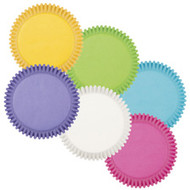 Bright Rainbow Cupcake Baking Cups 150ct Wilton