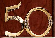50th Gold Anniversary Pick Wilton
