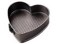 "9"" Springform Nonstick Heart Cake Pan Wilton"