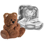 3D Stand Up Cuddly Bear Cake Pan Wilton
