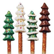 Christmas Trees Pretzel Mold Wilton