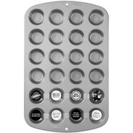 24 Cup Mini Muffin Pan Nonstick Wilton