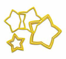 6 pc. Nested Stars Cookie Cutters Set Wilton