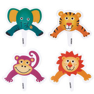 Jungle Pals Pops Fun Pix 8ct Wilton