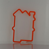 cookie cutter doll house plastic
