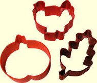 COOKIE CUTTERS HARVESTx3 WILTON