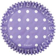 Purple Dots Cupcake Baking Cups 75ct Wilton