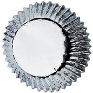 Silver Foil Cupcake Baking Cups 24ct Wilton