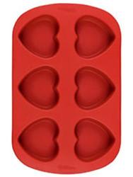 Mini Heart Silicone Mold Wilton