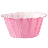 Pink Ruffled Cupcake Baking Cups 24ct Wilton