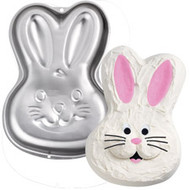 Step-By-Step Bunny Pan Wilton