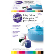 Assorted Icing Color Set 12ct. Wilton