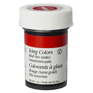 No Taste Red Icing Color 1oz. Jar Wilton