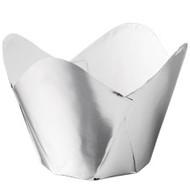 Silver Foil Pleated Baking Cups Wilton